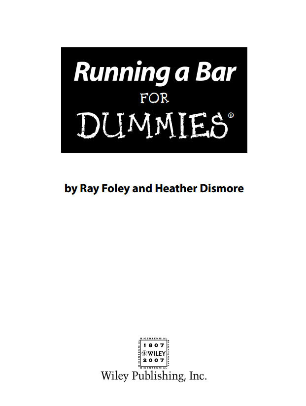 Running-a-pub-bar-for-dummies